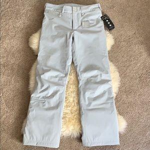 NILS Silver Women's Snowboarding Pants, Large